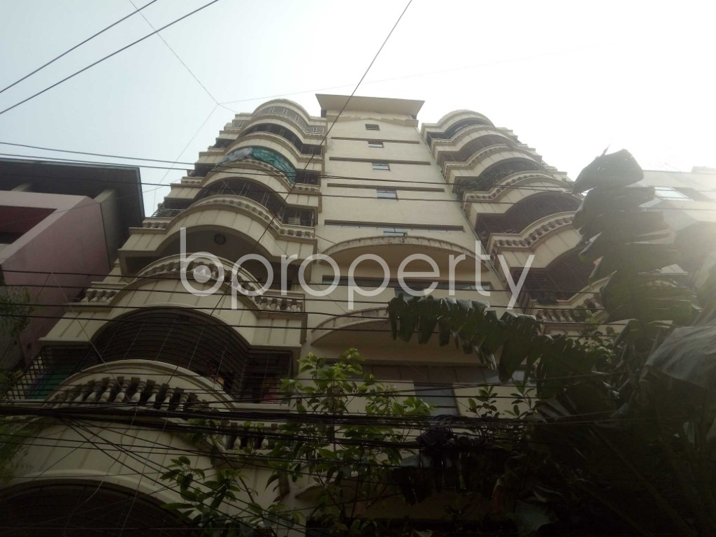 Front view - 2 Bed Apartment to Rent in Lalmatia, Dhaka - 1871785