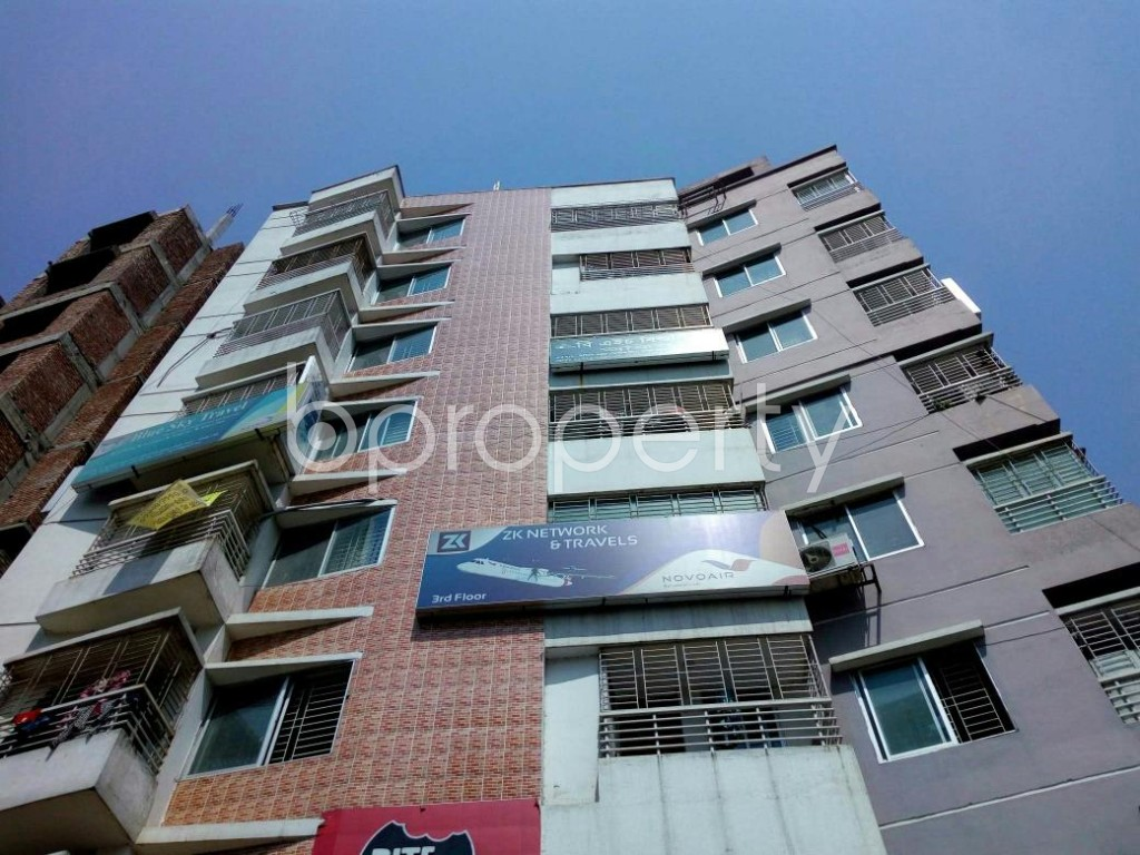Front view - Office for Sale in Cantonment, Dhaka - 1872625