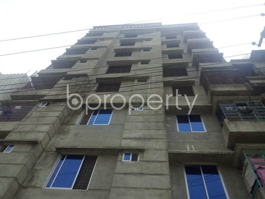 Front view - 3 Bed Apartment for Sale in Bakalia, Chattogram - 1873522