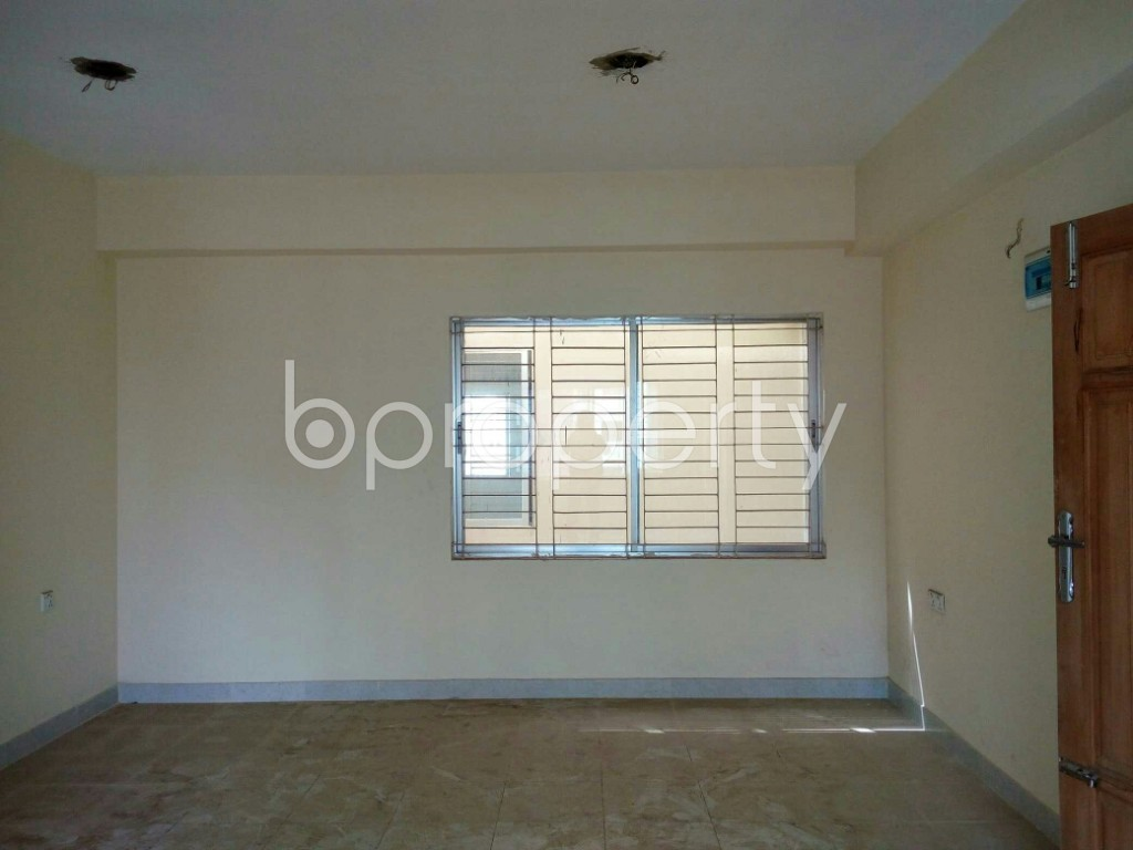 Dining area - 3 Bed Apartment for Sale in Halishahar, Chattogram - 1873889