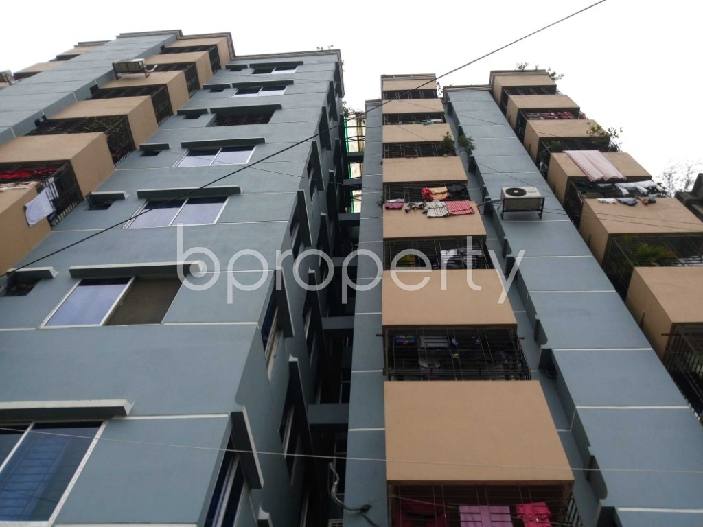 Front view - 3 Bed Apartment for Sale in Ibrahimpur, Dhaka - 1875093