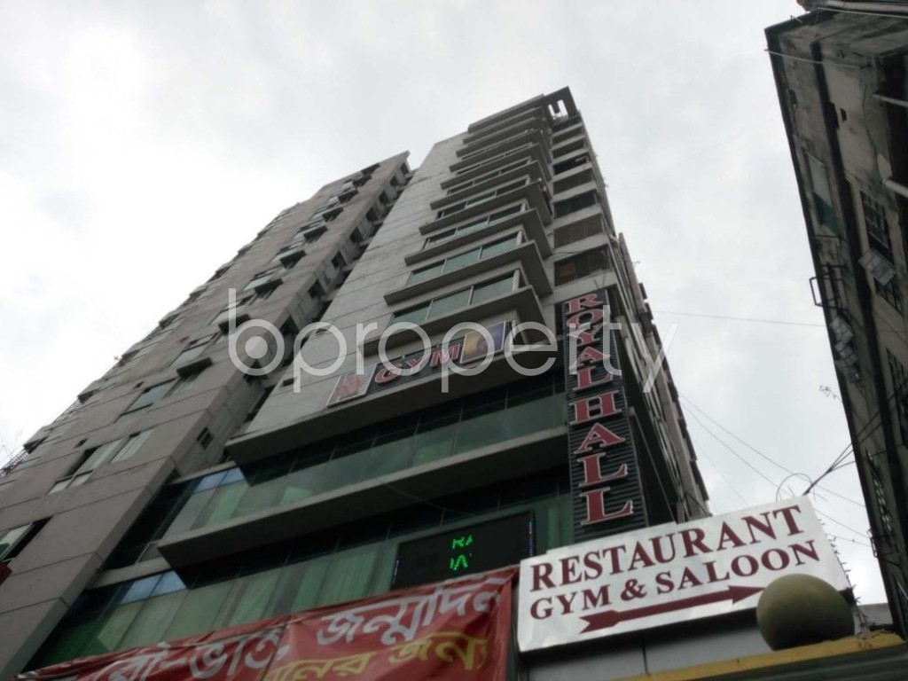 Front view - 4 Bed Apartment for Sale in Shegunbagicha, Dhaka - 1875157