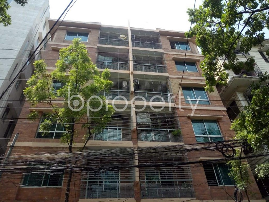 Front view - 3 Bed Apartment for Sale in Lalmatia, Dhaka - 1875231