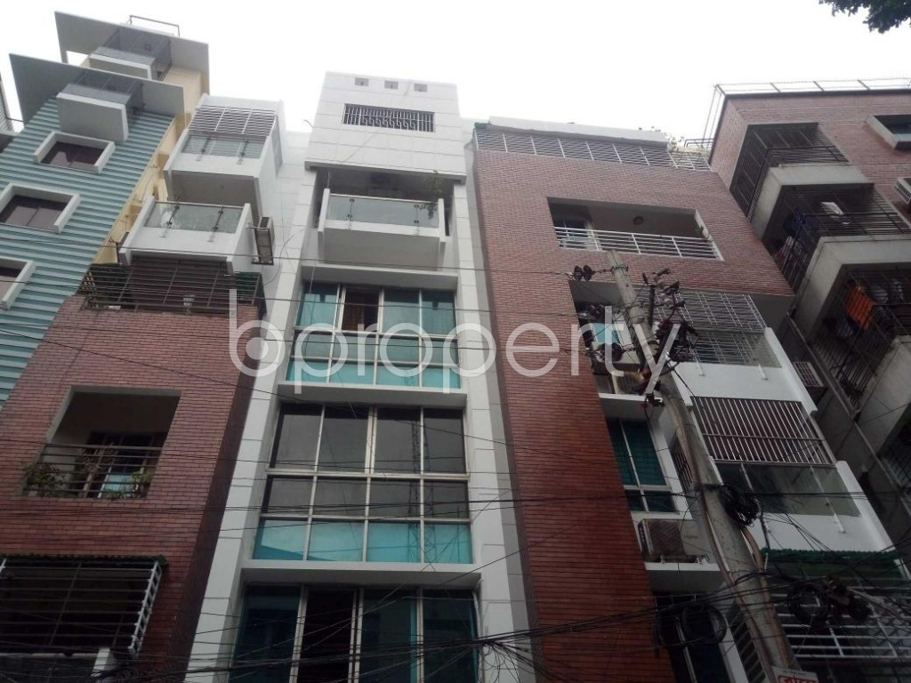 Front view - 3 Bed Apartment to Rent in Lalmatia, Dhaka - 1875465