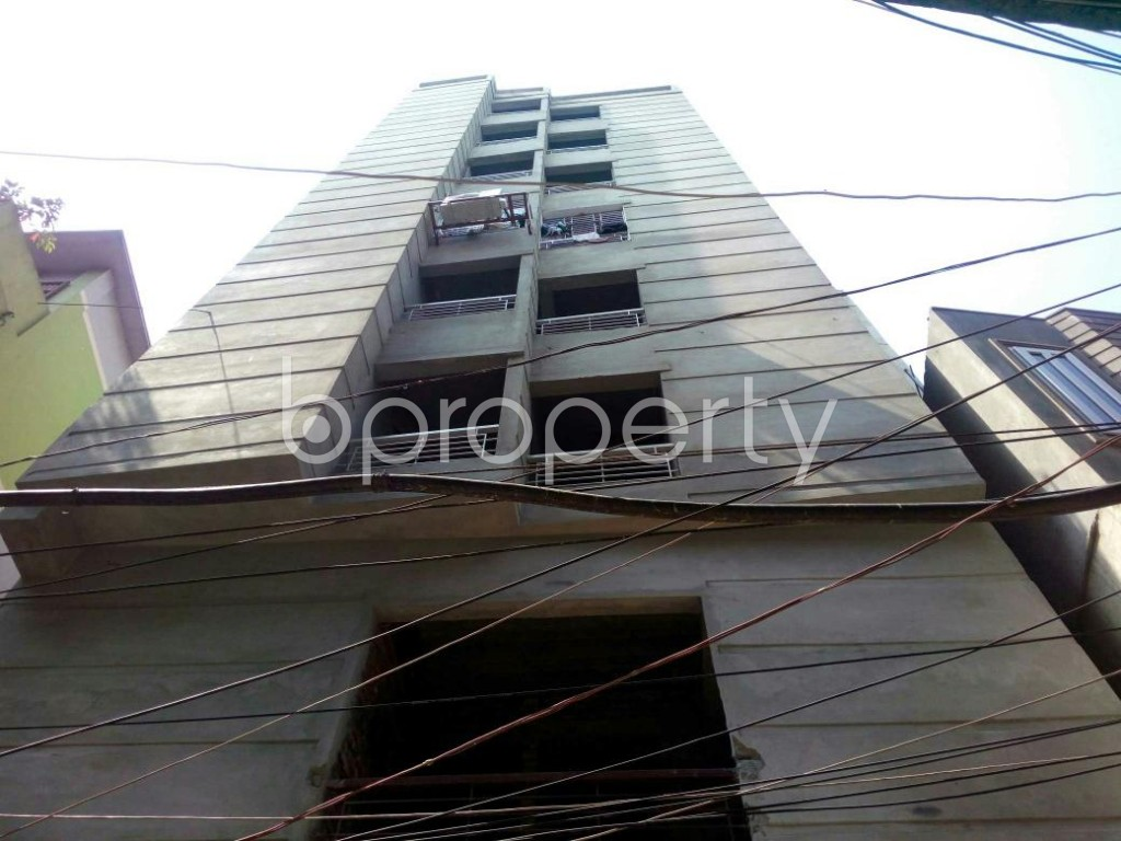 Front view - 2 Bed Apartment for Sale in Jatra Bari, Dhaka - 1875619