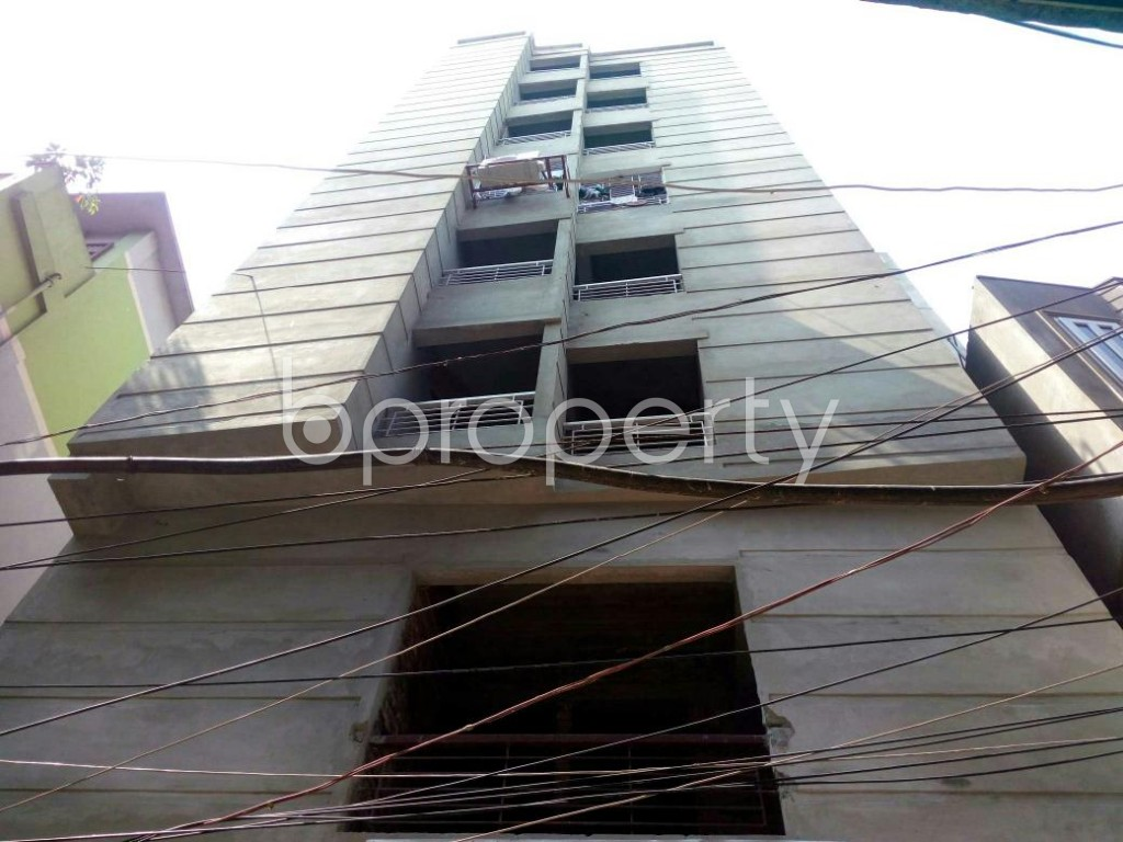 Front view - 2 Bed Apartment for Sale in Jatra Bari, Dhaka - 1875620