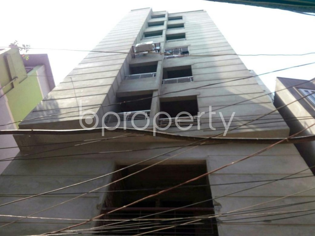Front view - 3 Bed Apartment for Sale in Jatra Bari, Dhaka - 1875621