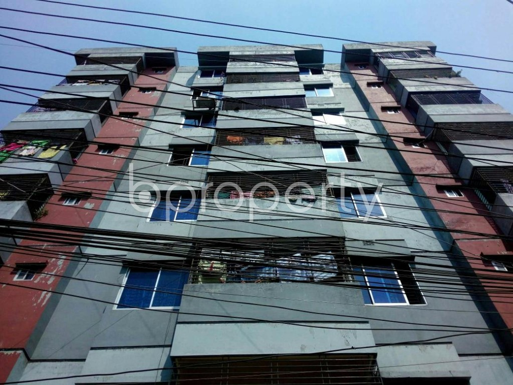 Front view - 3 Bed Apartment for Sale in Jatra Bari, Dhaka - 1875622