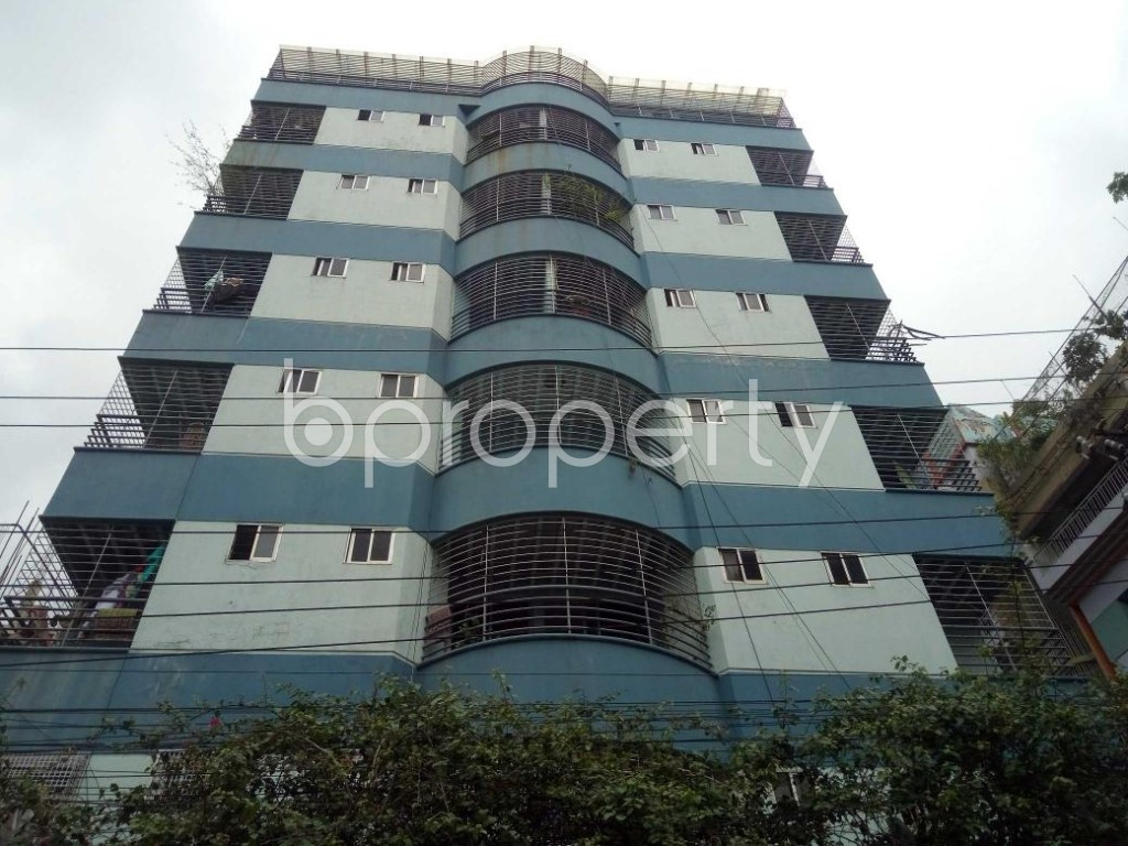 Front view - 3 Bed Apartment for Sale in Lalmatia, Dhaka - 1875665