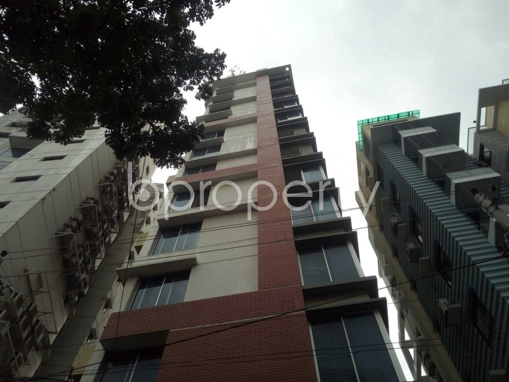 Front view - 3 Bed Apartment for Sale in Lalmatia, Dhaka - 1875687