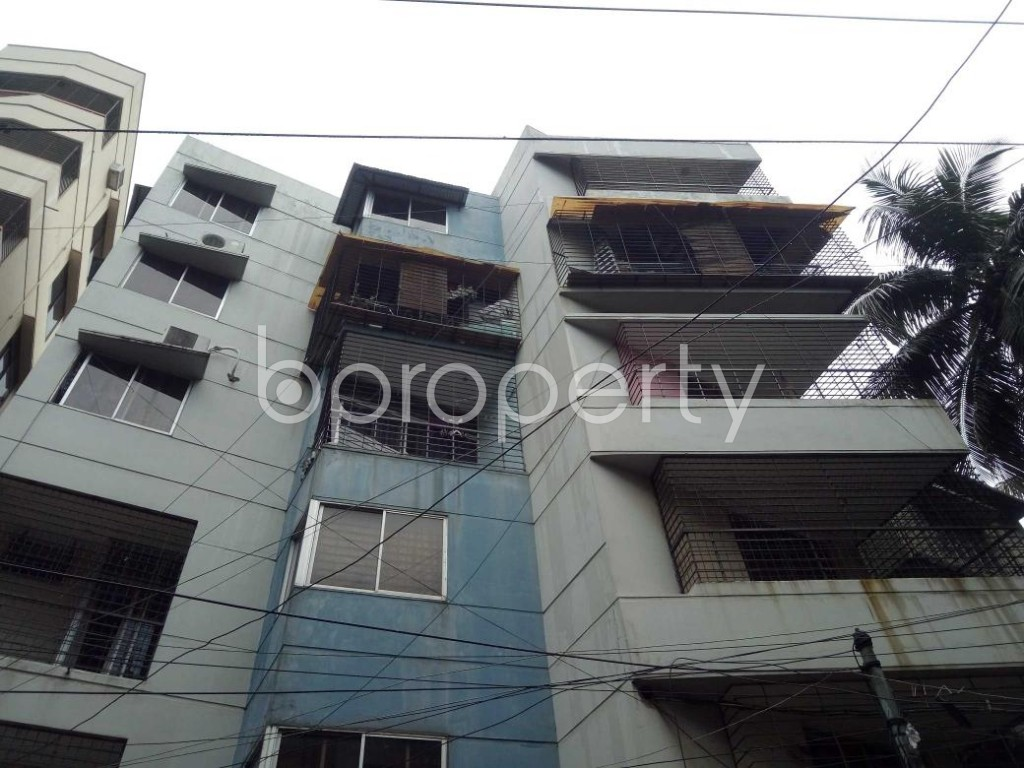 Front view - 3 Bed Apartment to Rent in Lalmatia, Dhaka - 1875697