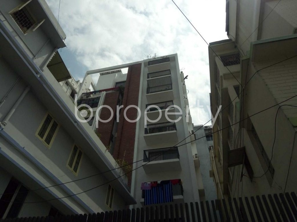 Front view - 3 Bed Apartment to Rent in Lalmatia, Dhaka - 1875810
