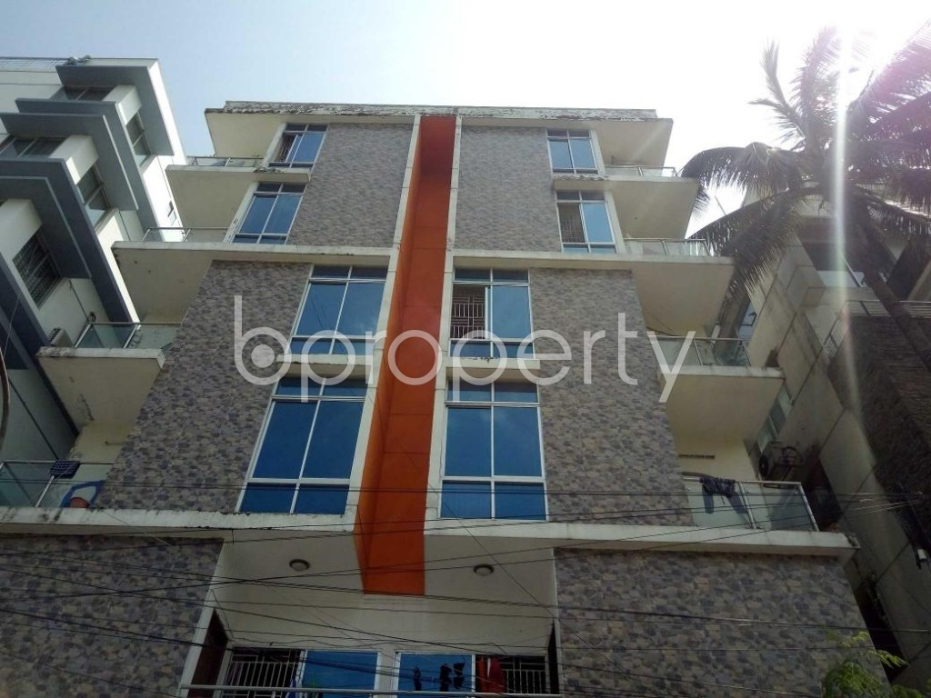 Front view - 3 Bed Apartment to Rent in Lalmatia, Dhaka - 1875821
