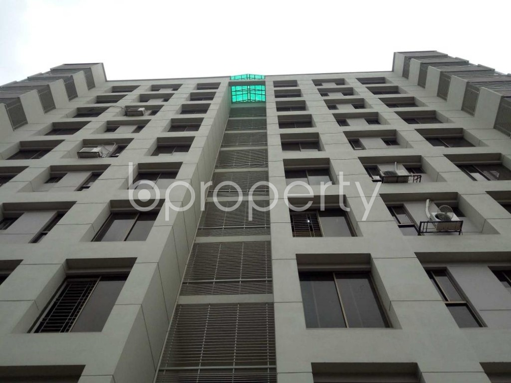 Front view - 3 Bed Apartment to Rent in Lalmatia, Dhaka - 1876137