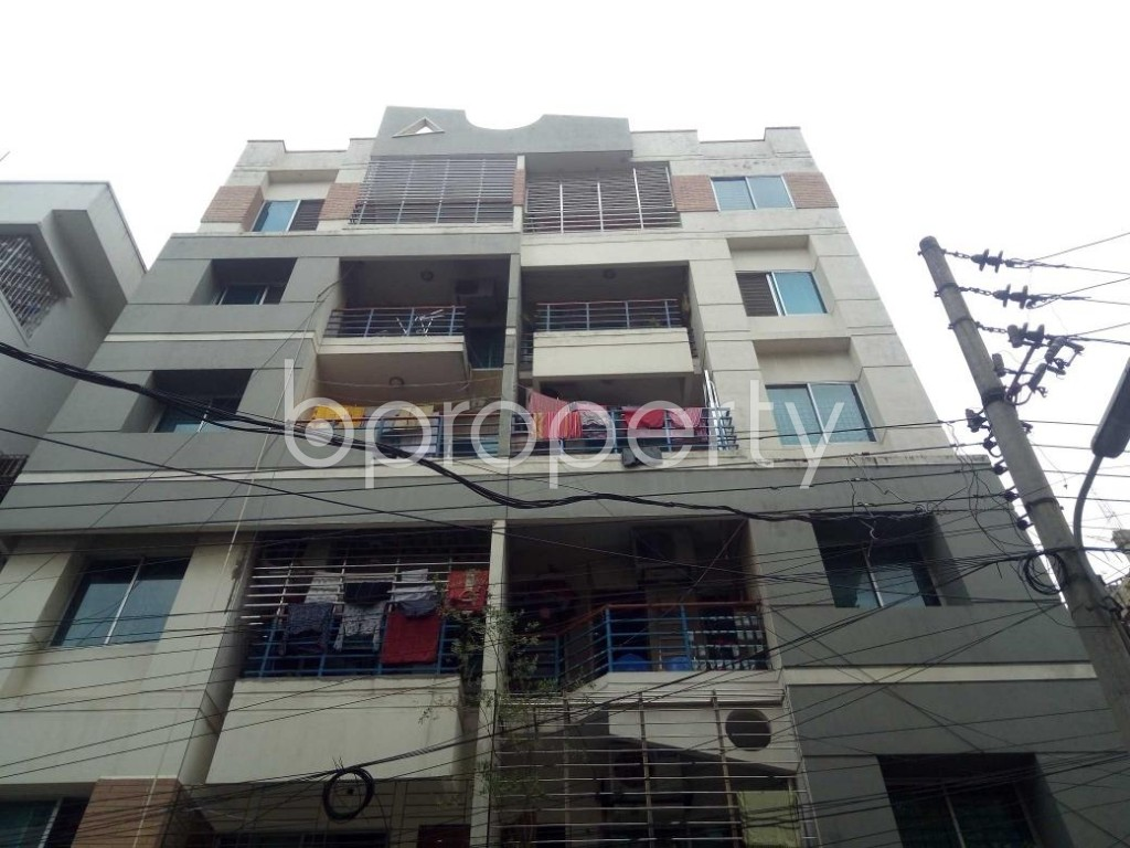 Front view - 3 Bed Apartment to Rent in Lalmatia, Dhaka - 1876148