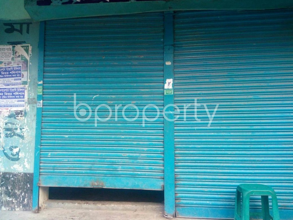 Front view - Shop to Rent in Mirpur, Dhaka - 1876603