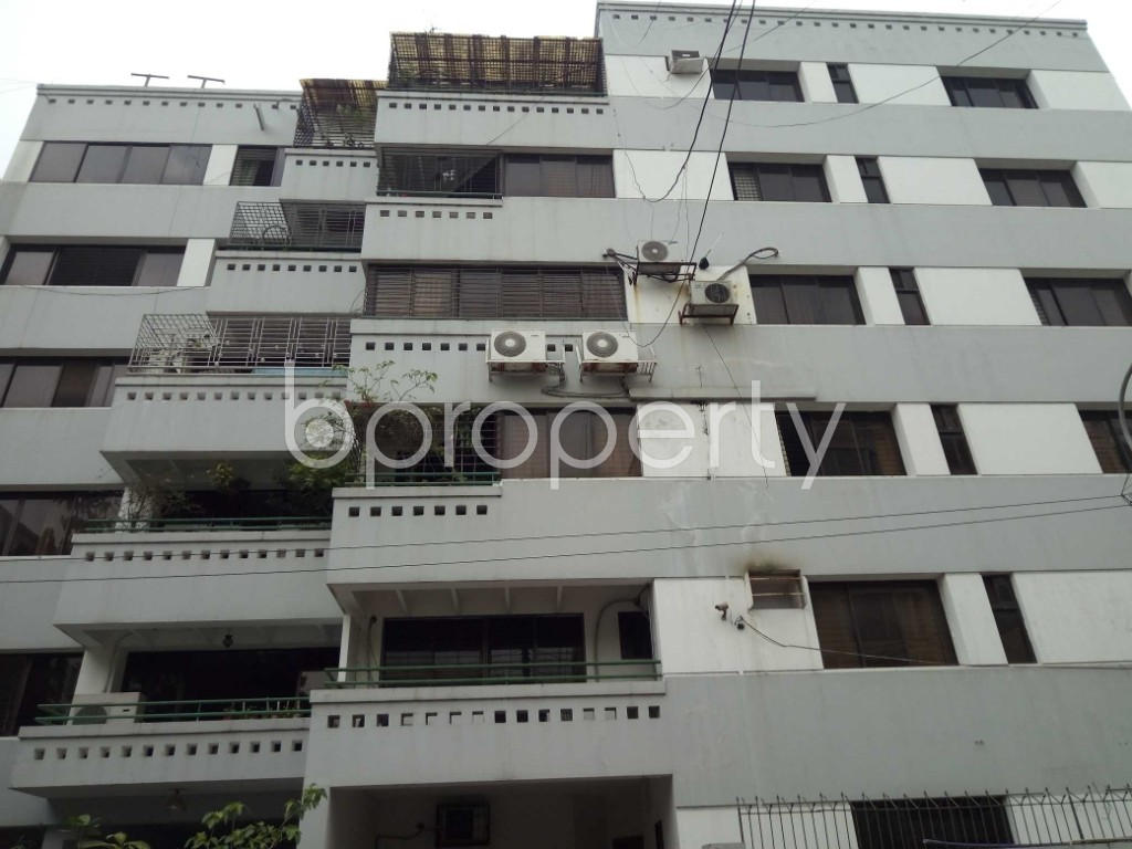 Front view - 3 Bed Apartment to Rent in Gulshan, Dhaka - 1876682