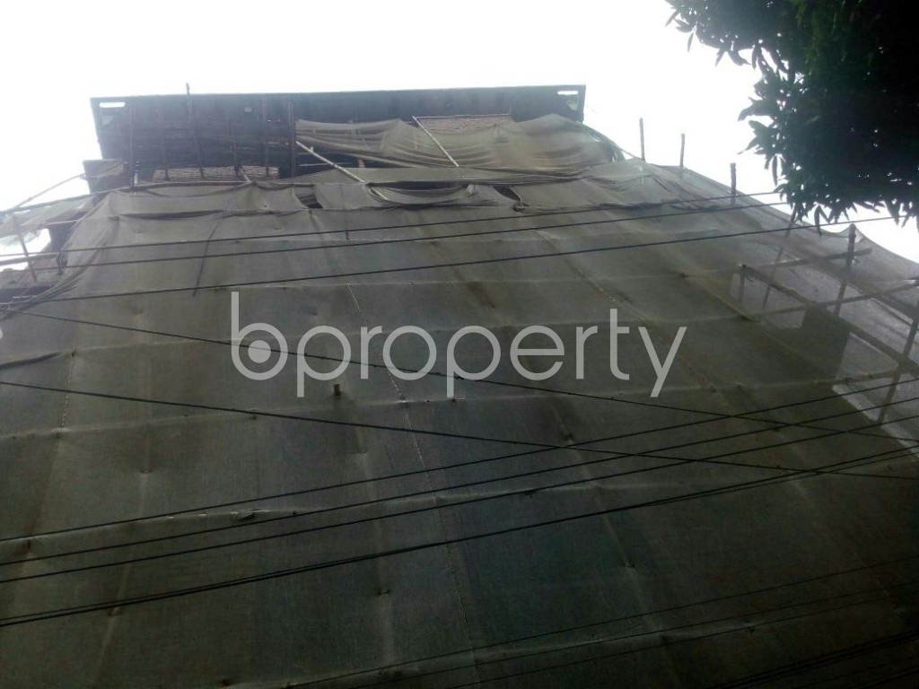 Front view - 3 Bed Apartment for Sale in Rampura, Dhaka - 1876782