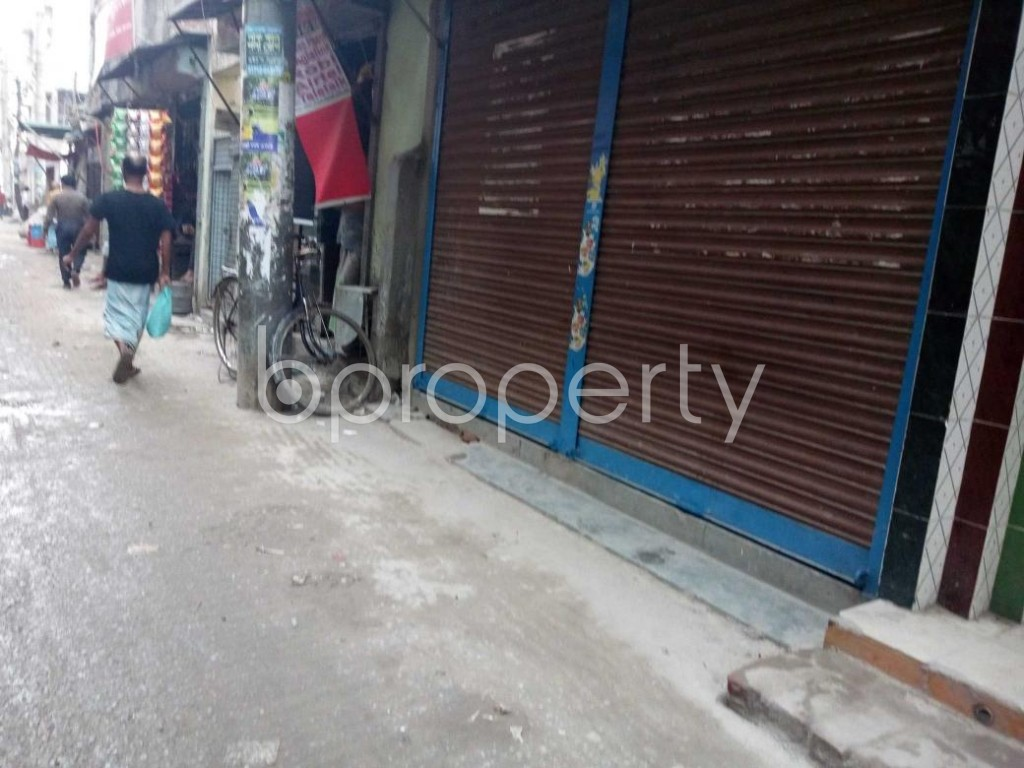 Front view - Shop to Rent in Khilgaon, Dhaka - 1876904