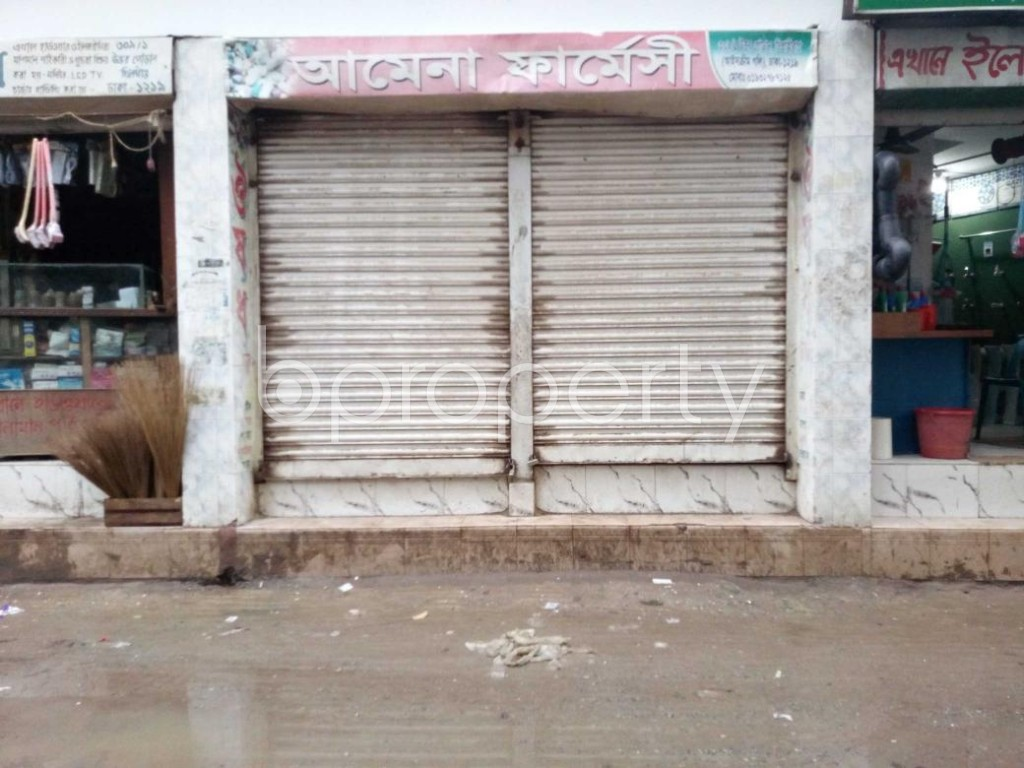Front view - Shop to Rent in Khilgaon, Dhaka - 1876934