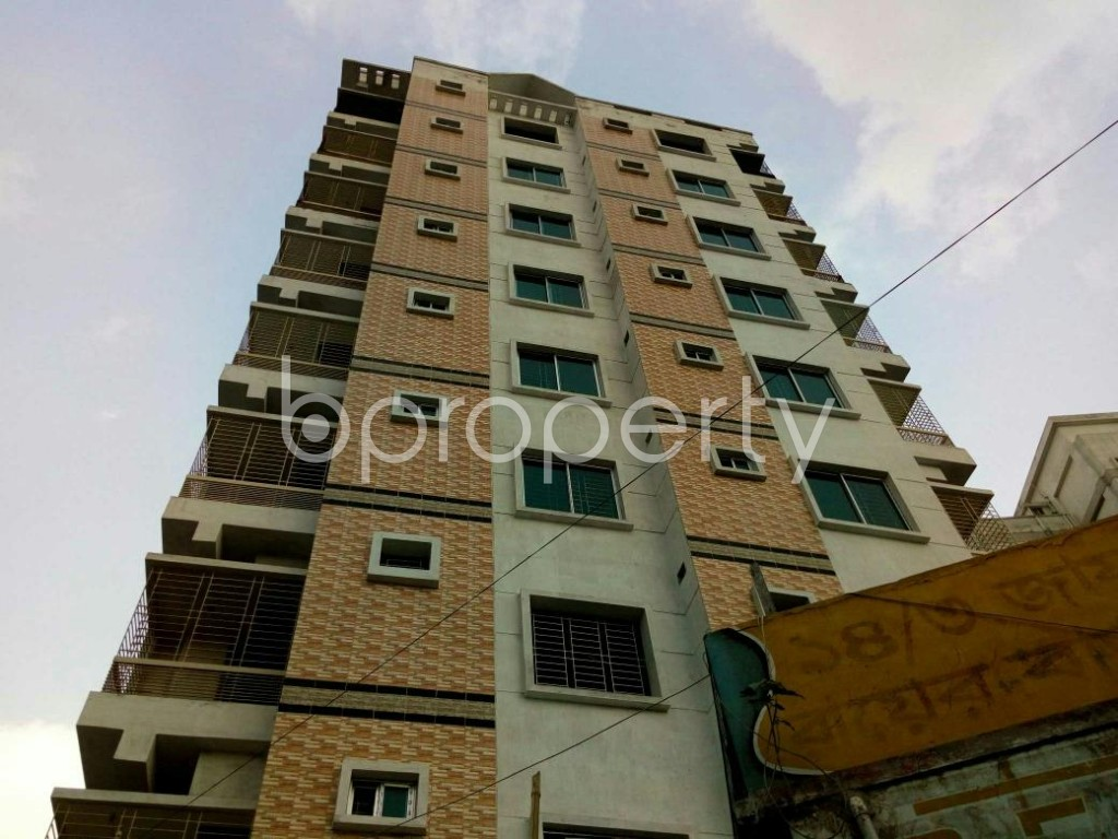 Front view - 3 Bed Apartment for Sale in Hazaribag, Dhaka - 1877020