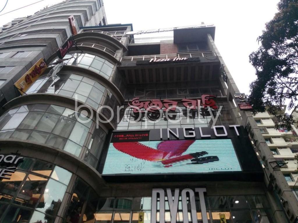 Front view - Shop to Rent in Shiddheswari, Dhaka - 1877041