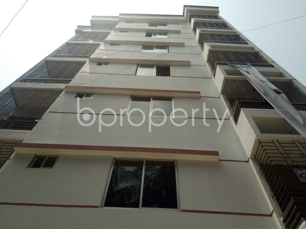 Front view - 3 Bed Apartment for Sale in Mirpur, Dhaka - 1877146