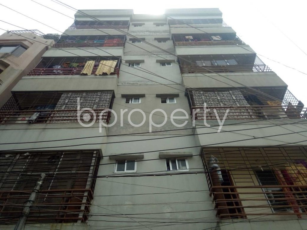 Front view - 3 Bed Apartment for Sale in Banasree, Dhaka - 1877211