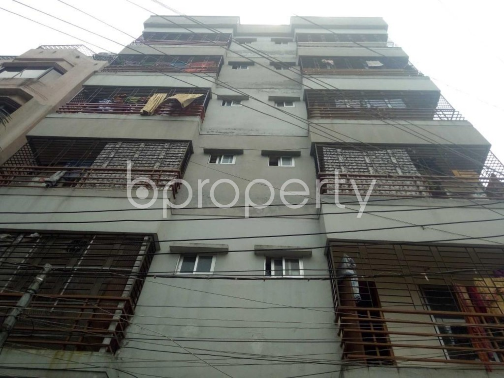 Front view - 3 Bed Apartment for Sale in Banasree, Dhaka - 1877213