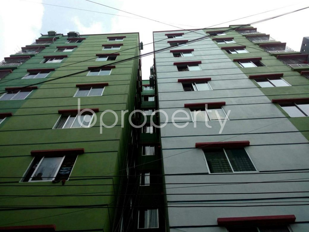 Front view - 2 Bed Apartment to Rent in Mirpur, Dhaka - 1877264