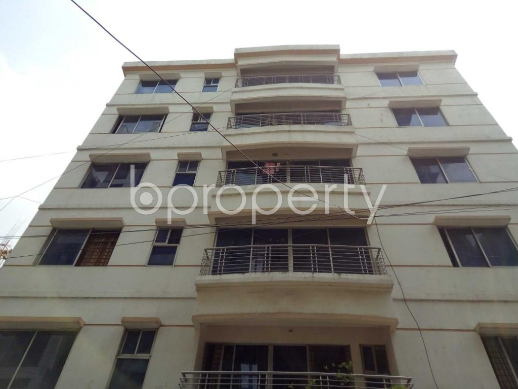 Front view - 1 Bed Apartment to Rent in Bashundhara R-A, Dhaka - 1877287