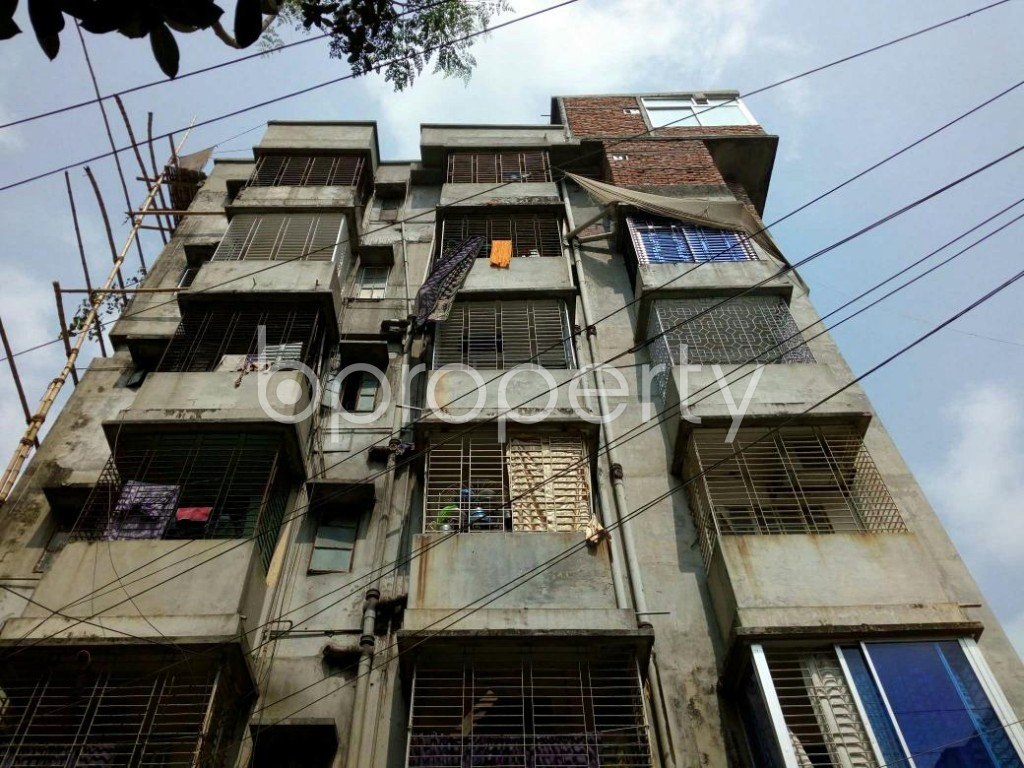 Front view - 1 Bed Apartment to Rent in Mirpur, Dhaka - 1877299