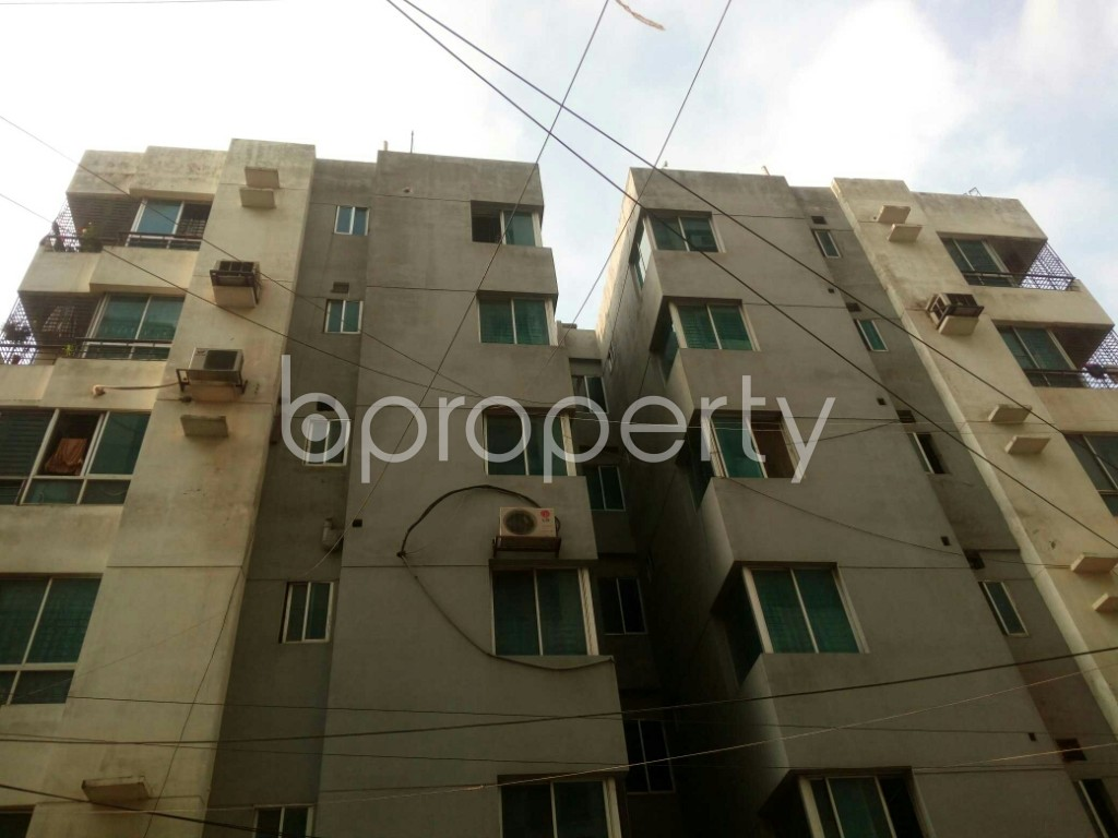 Outside view - 3 Bed Apartment to Rent in Mirpur, Dhaka - 1877487