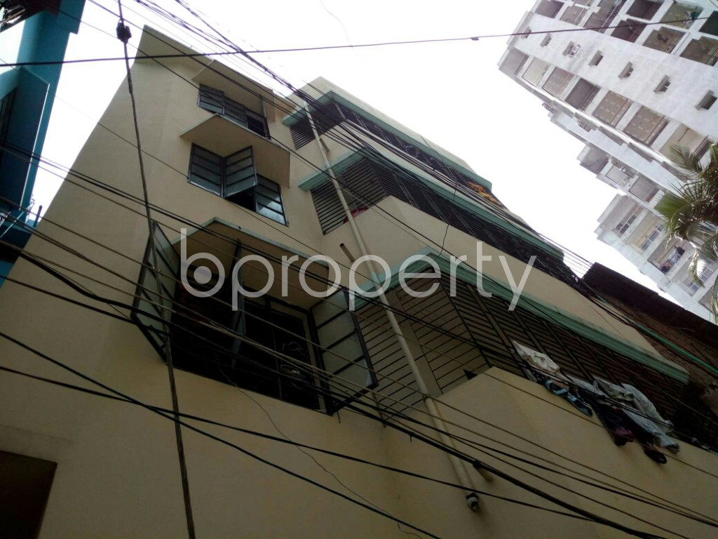 Outside view - 2 Bed Apartment to Rent in Dhanmondi, Dhaka - 1877519