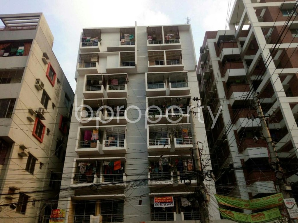 Front view - 3 Bed Apartment to Rent in Mirpur, Dhaka - 1877540