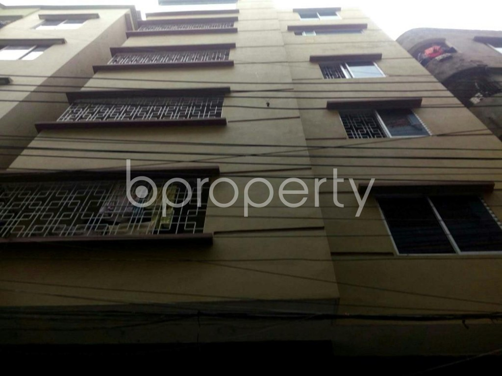 Front view - 3 Bed Apartment to Rent in Jatra Bari, Dhaka - 1877541