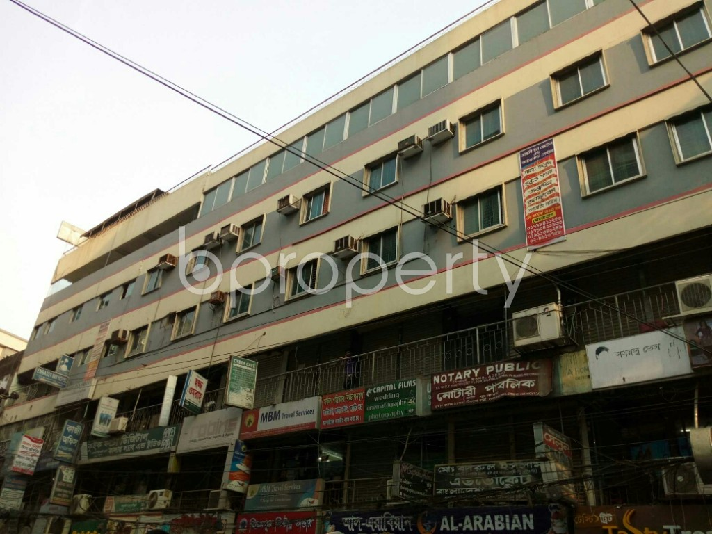 Outside view - Shop to Rent in Dhanmondi, Dhaka - 1878096