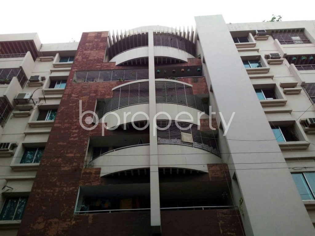 Front view - 4 Bed Apartment for Sale in Dhanmondi, Dhaka - 1878100