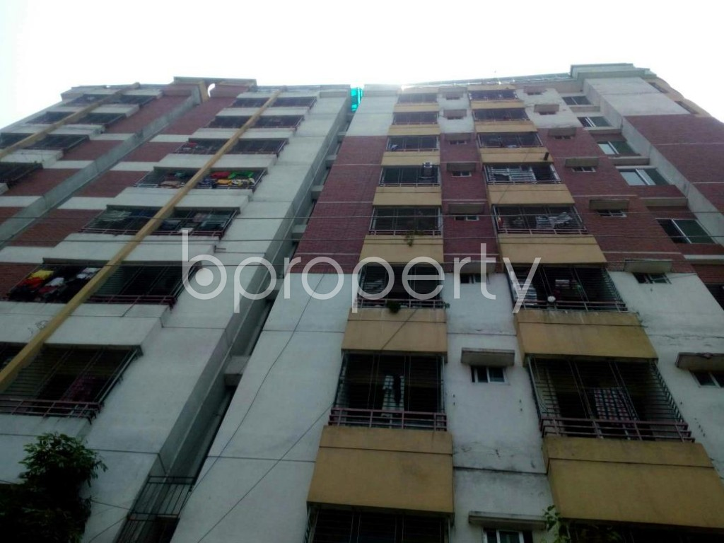 Front view - 3 Bed Apartment to Rent in Mohakhali, Dhaka - 1879158