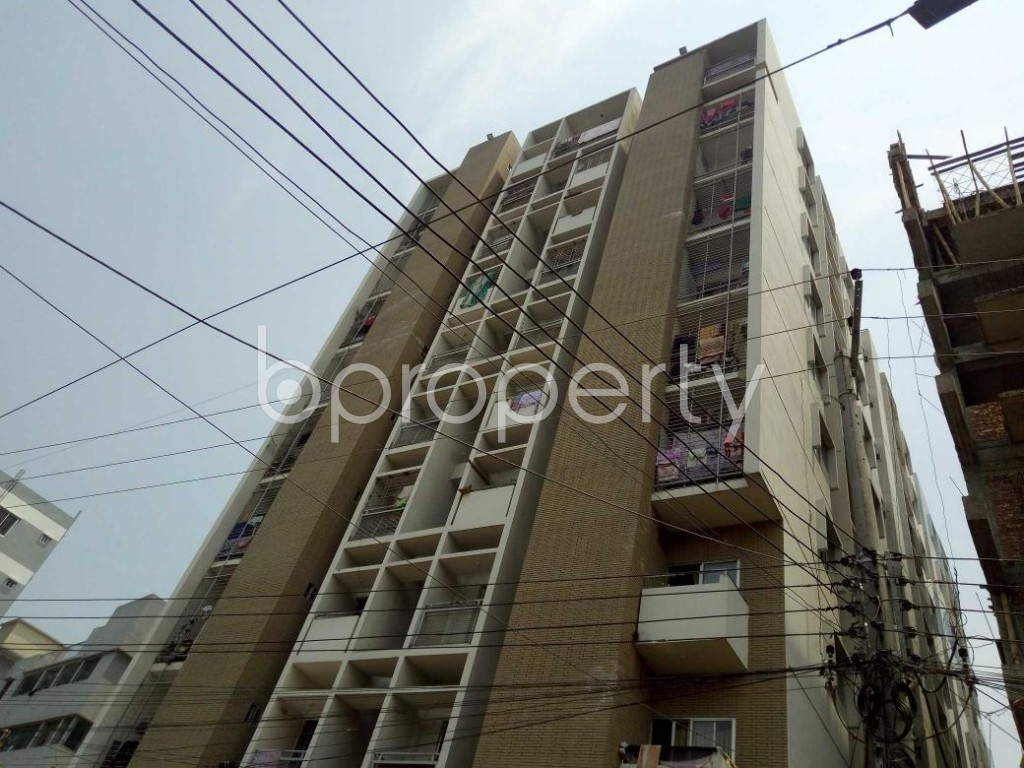 Front view - 3 Bed Apartment for Sale in 7 No. West Sholoshohor Ward, Chattogram - 1880032