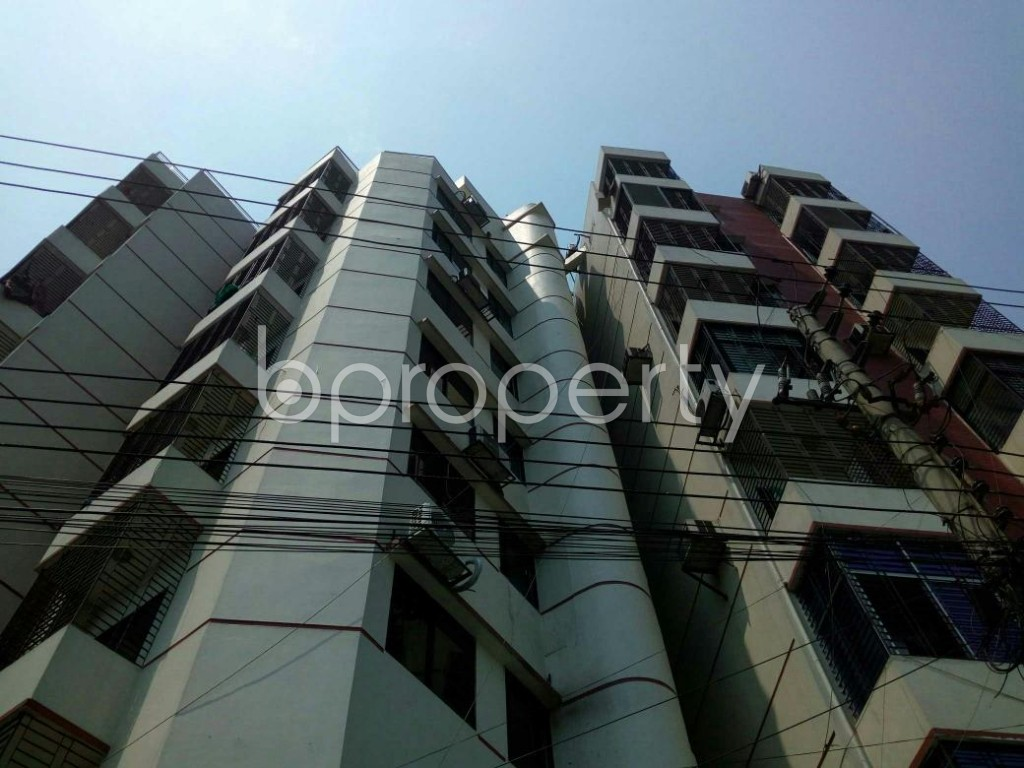 Front view - 3 Bed Apartment for Sale in Cantonment, Dhaka - 1880150