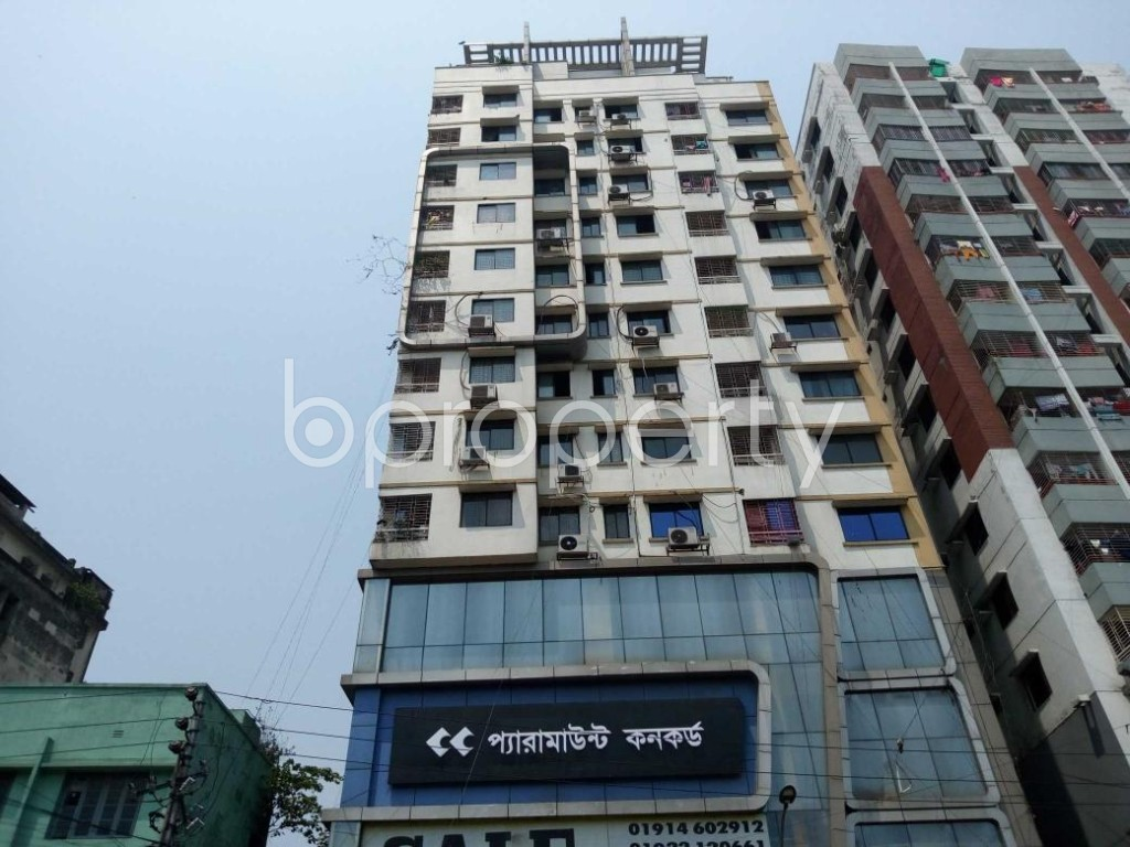 Front view - 3 Bed Apartment for Sale in Sutrapur, Dhaka - 1880680
