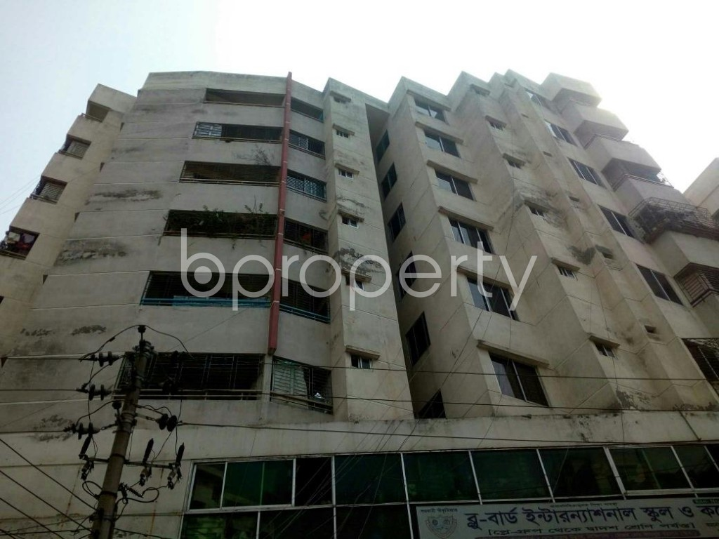 Front view - 4 Bed Apartment for Sale in Cantonment, Dhaka - 1880702