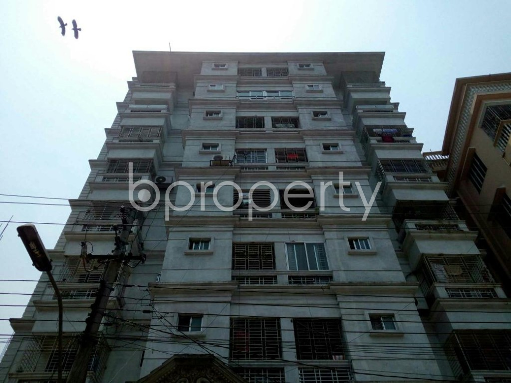 Front view - 3 Bed Apartment for Sale in Cantonment, Dhaka - 1880796
