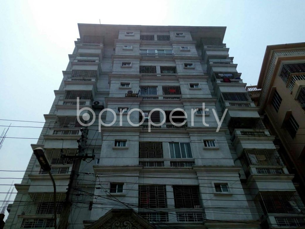 Front view - 3 Bed Apartment for Sale in Cantonment, Dhaka - 1880798