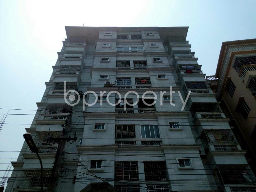 Front view - 3 Bed Apartment for Sale in Cantonment, Dhaka - 1880806