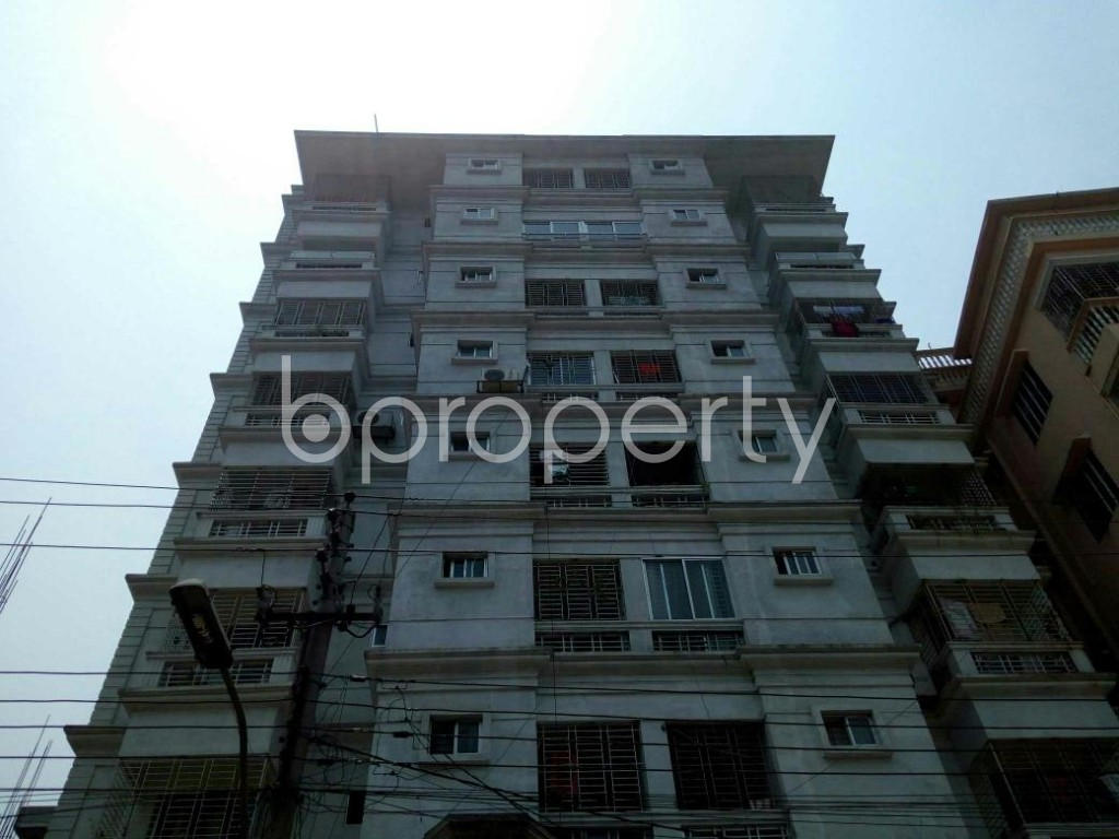 Front view - 3 Bed Apartment for Sale in Cantonment, Dhaka - 1880812