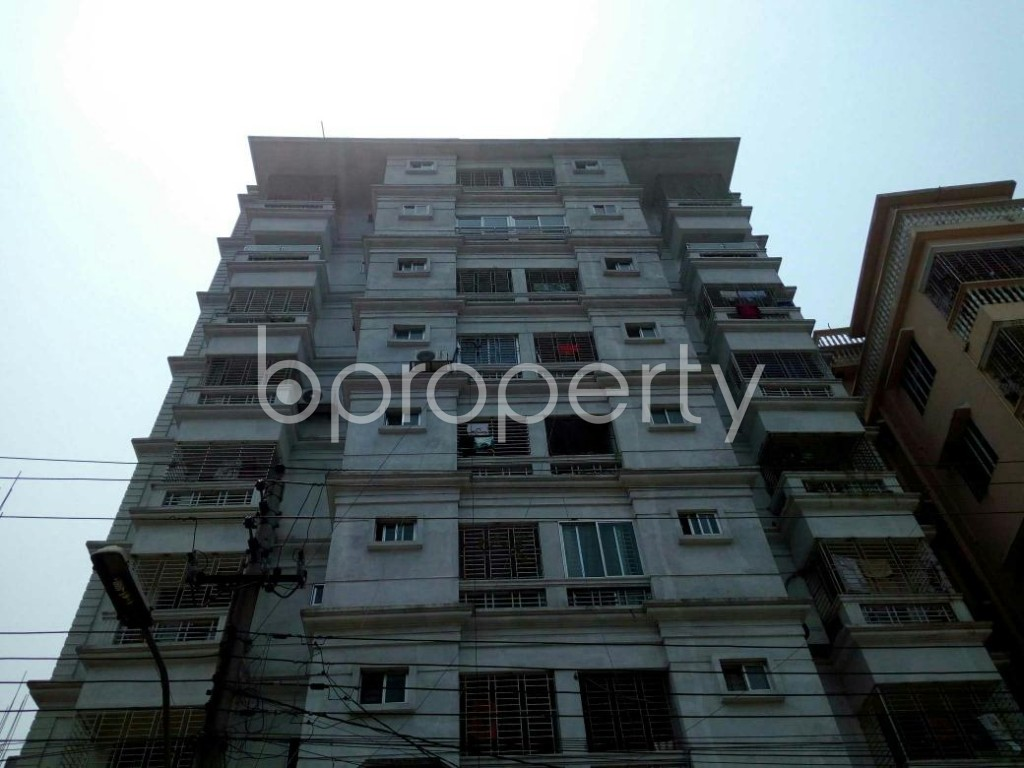 Front view - 3 Bed Apartment for Sale in Cantonment, Dhaka - 1880816