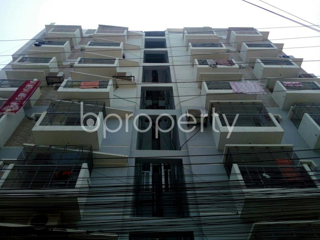 Front view - 3 Bed Apartment for Sale in Double Mooring, Chattogram - 1881126