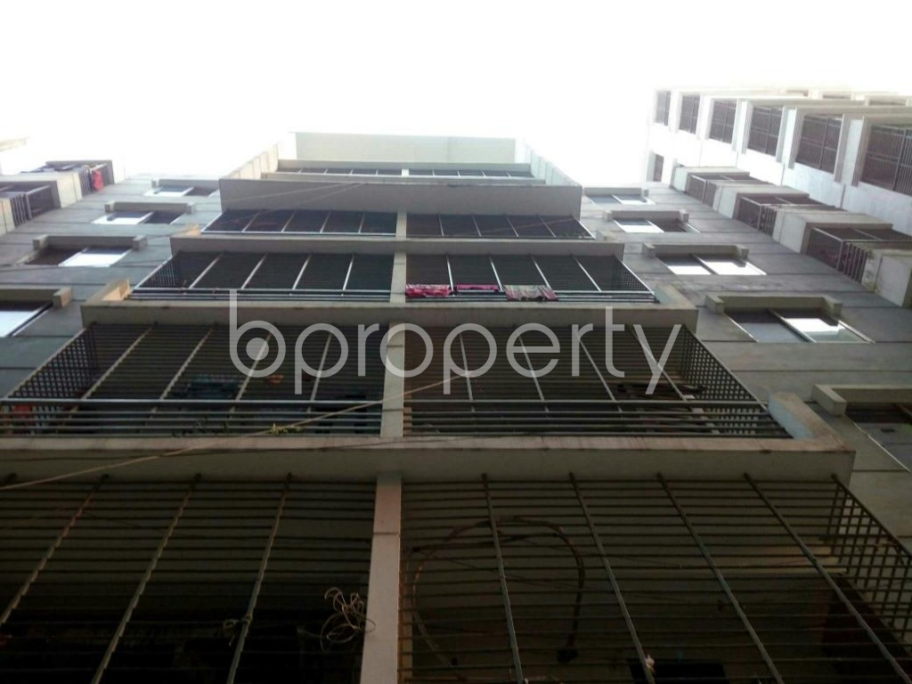 Front view - 3 Bed Apartment for Sale in Cantonment, Dhaka - 1881274